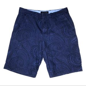 Tommy Hilfiger Paisley Patterned Cotton Shorts